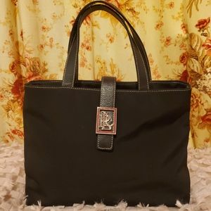 Ralph Lauren Nylon Tote Handbag Purse